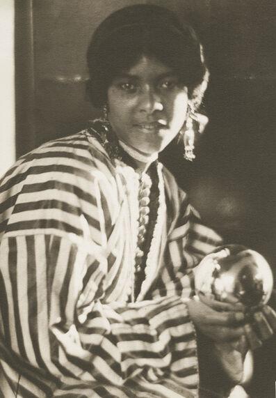 Adolf de Meyer, 'Aida, a Maid of Tangier', 1910-12c