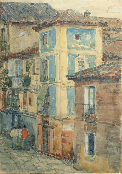 Childe Hassam, 'Street Scene, Spain', 1910