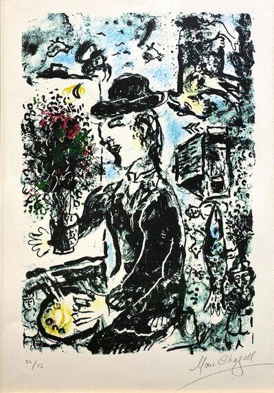 Marc Chagall, 'Le Peintre au Chapeau (M.1010)', 1983