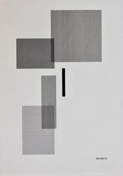 Frieder Nake, '17.9.65 Nr. 2', 1965