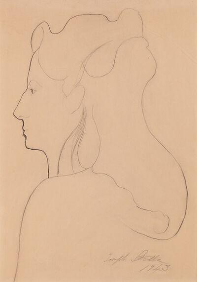 Joseph Stella, 'Portrait of Elizabeth Savage', 1943