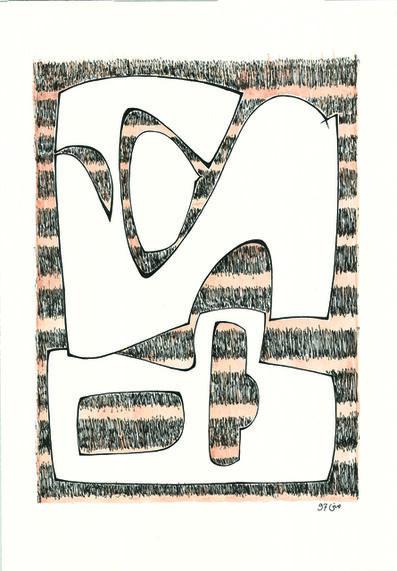 Mona Saudi, 'Waves', 1977