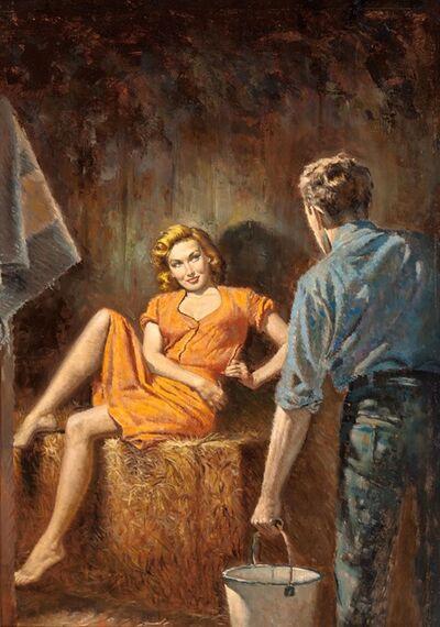 Rudy Nappi, 'Farmer's Wife, Paperback Cover', 1952