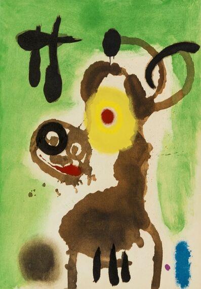Joan Miró, 'Four Pochoirs from 'Cartones' (Cramer 103)', 1965