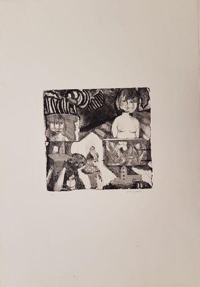 Bruno Cassinari, 'Atelier', 1969