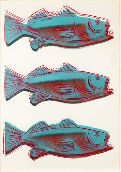 Andy Warhol, 'Fish', 1983