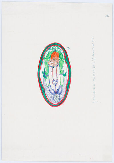 Guo Fengyi, 'Diagram of the Human Nervous System', 1989