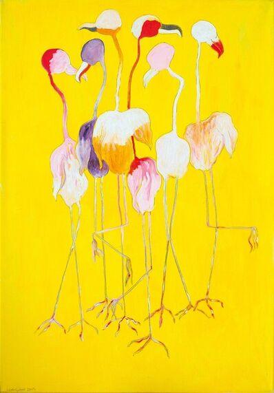 Oswald Oberhuber, 'Flamingos, 2005 ', 2005