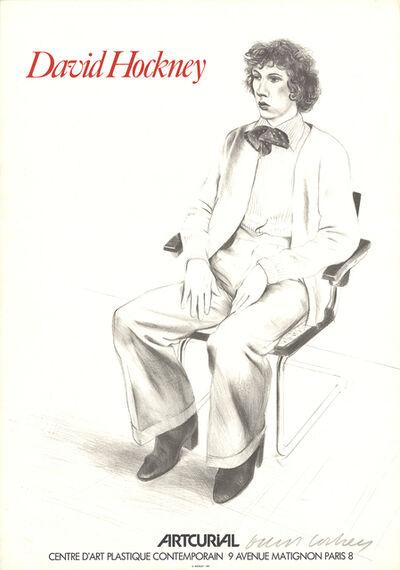 David Hockney, 'Artcurial, Gregory Evans', 1979