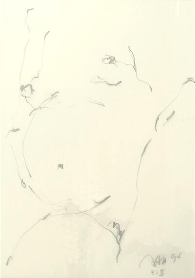 Peter Raneburger, 'aktskizze ', 1991