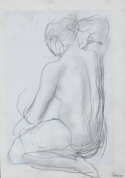 Mario Sironi, 'Nudo di schiena', 1930 ca