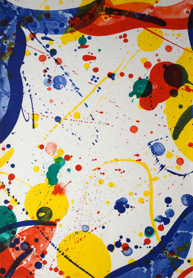Sam Francis, 'SF-72,  Pasadena Box, Another 8 Set - 8', 1966