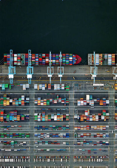 Jeffrey Milstein, 'Container Port 38', 2015