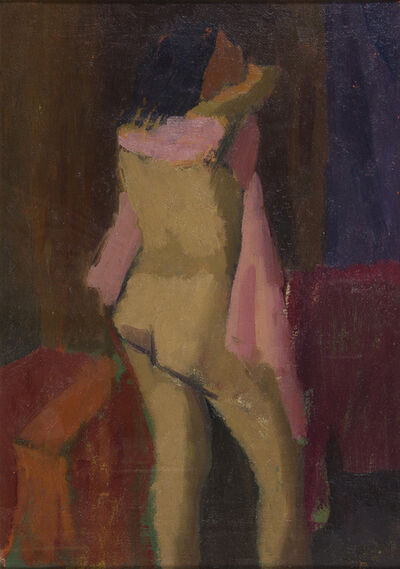Giuseppe Capogrossi, 'Nude', 1945