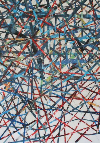 GA Gardner, 'Red, White, Blue and Black', 2013