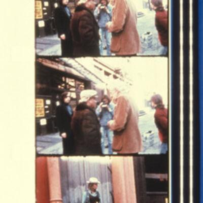 Jonas Mekas, 'Sam Fuller, Nick Ray, Wim Wenders, Dennis Hopper During the filming of MY AMERICAN FRIEND Soho, NYC 1977', 2013