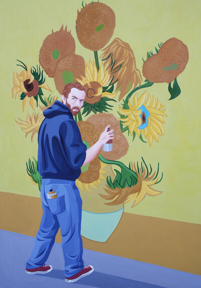 Giuseppe Veneziano, 'La Costruzione di un Amore', 2015