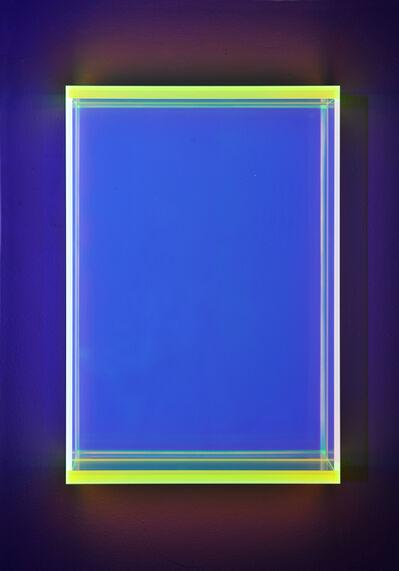 Regine Schumann, 'Color rainbow soft green knokke toronto', 2018
