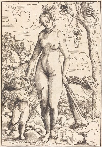 Lucas Cranach the Elder, 'Venus and Cupid', dated 1506 (probably executed c. 1509)