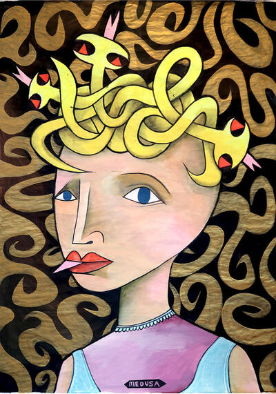 Jim Avignon, 'Medusa', 2016