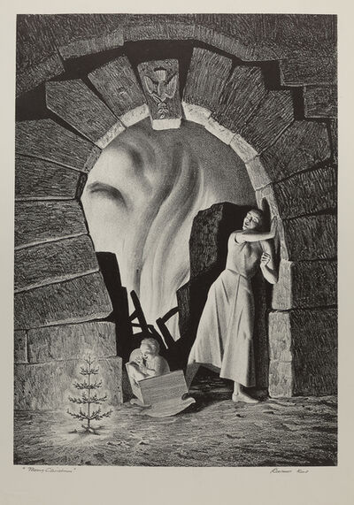 Rockwell Kent, 'Merry Christmas', 1951
