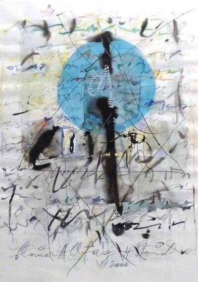 Hans Staudacher, 'Blauer Alltag', 2003