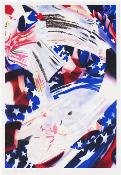 James Rosenquist, 'Stars and Stripes at the Speed of Light', 2010