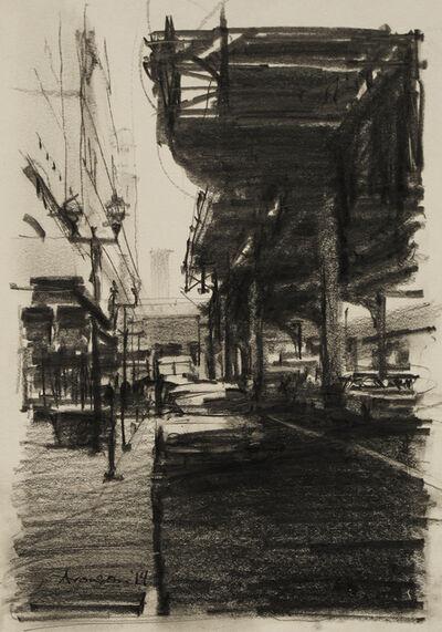 Ben Aronson, 'Under the El, Chicago', 2014