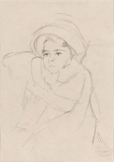 Mary Cassatt, 'Margot Wearing a Bonnet', ca. 1902