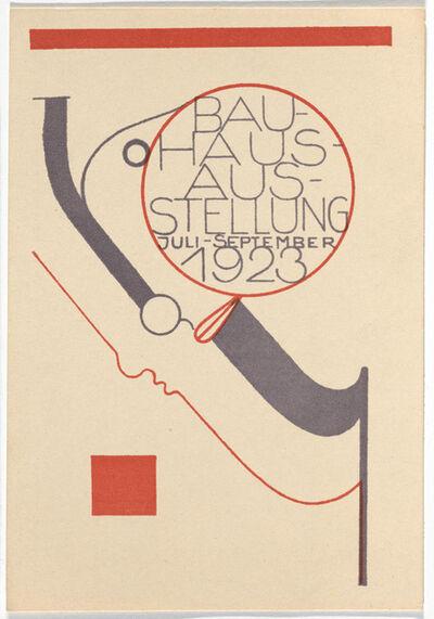Oskar Schlemmer, 'Bauhaus Postcard', 1923