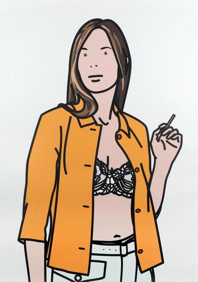 Julian Opie, 'Ruth Smoking I', 2006
