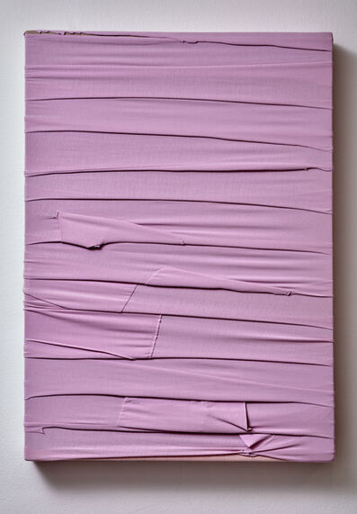 Angela de la Cruz, 'Monochrome (pink)', 2020