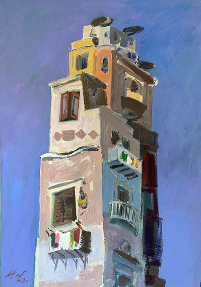 Mohamed Abla, 'City towers', 2010