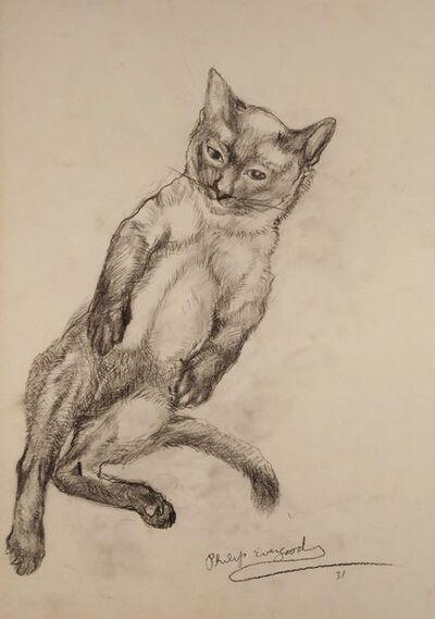 Philip Evergood, 'Cat', 1931