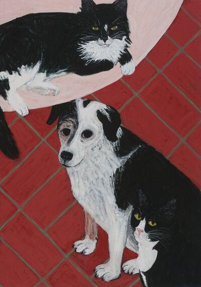 Sarah McEneaney, 'Triple Pet', 2013