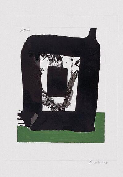 Robert Motherwell, 'Basque Suite', 1971