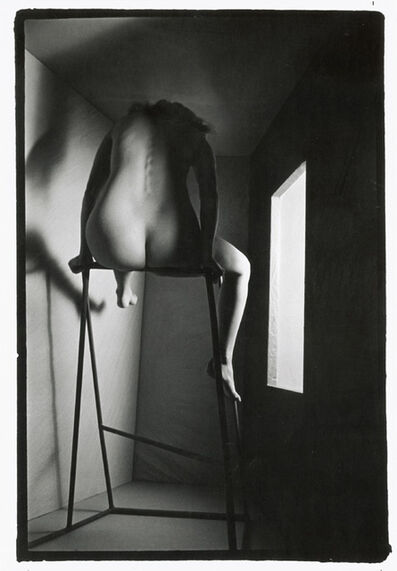 Todd Walker, 'Female Nude on High Stand with Window', 1967