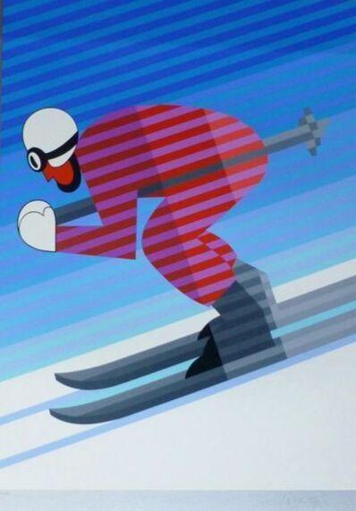 Victor Vasarely, 'Skieur descente', 1983