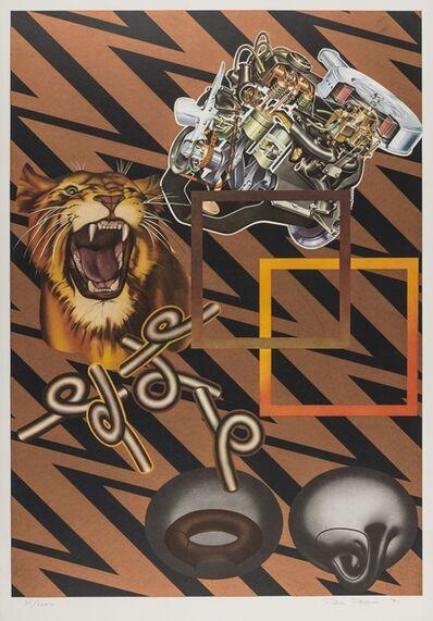 Peter Phillips, 'Safari (Bronze)', 1971