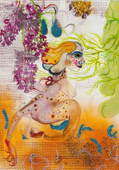 Rina Banerjee, 'More like turkey no turtle she scattered her verbal', 2015