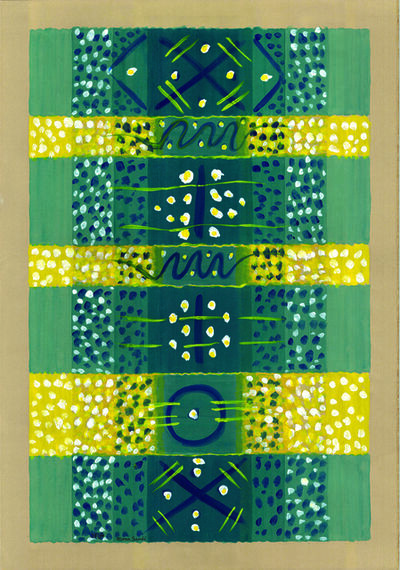 Mona Saudi, 'Almond Flowers', 1998