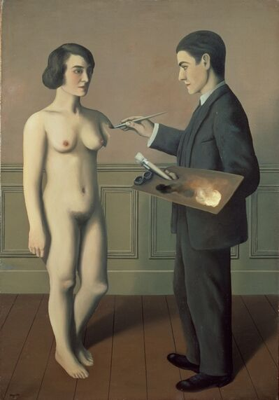 René Magritte, 'Tentative de l'impossible', 1928