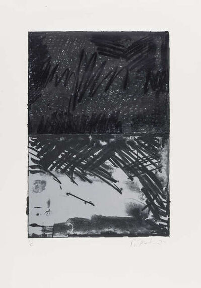 Brice Marden, 'Untitled Press #3 (Lewison 21.3)', 1972