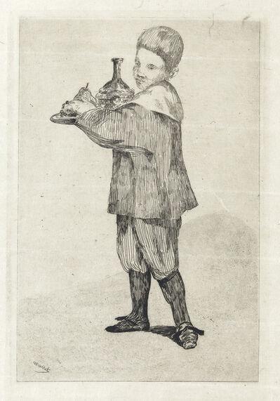 Édouard Manet, 'L'Enfant Portant un Plateau', 1862