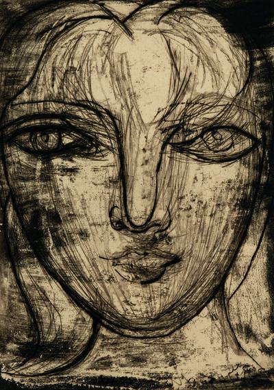 Pablo Picasso, 'Portrait de Marie-Thérèse de face', 1934