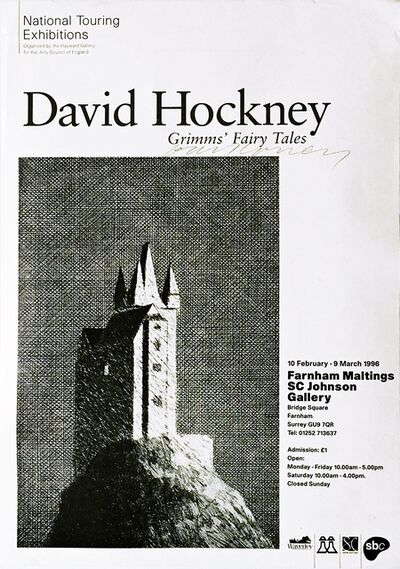 David Hockney, 'Grimms' Fairy Tales (Hand Signed)', 1996