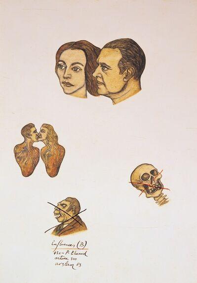 Yuksel Arslan, 'Arture 310, Paul Eluard, Influences', 1983
