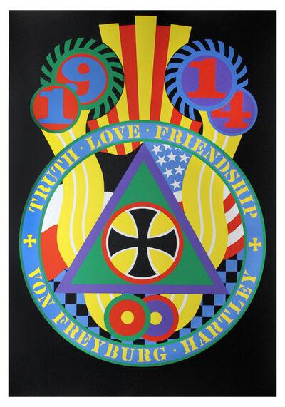 Robert Indiana, 'The Hartley Elegies: The Berlin Series - KvF V', 1990