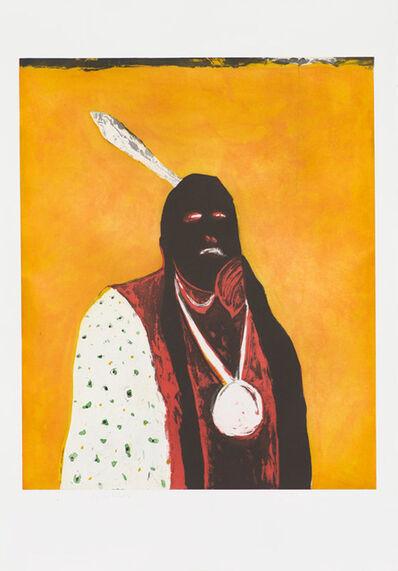 Fritz Scholder, 'Indian Portrait in Roma', 1978