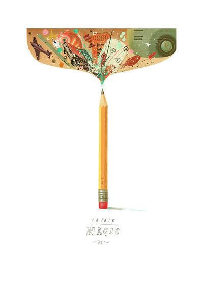 Oliver Jeffers, 'Create (Magic) Curiosity', 2019